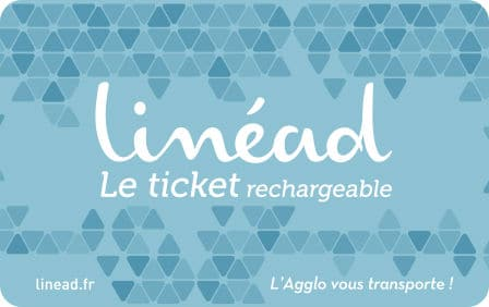 Ticket rechargeable